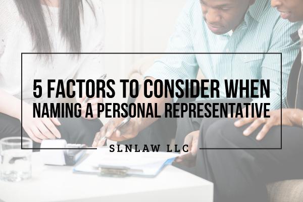 personal representative